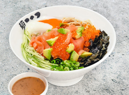 Menya Kokoro New Menu #2! Salmon!