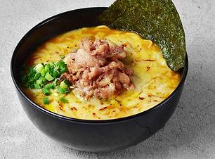 gyu curry cheese mazesoba