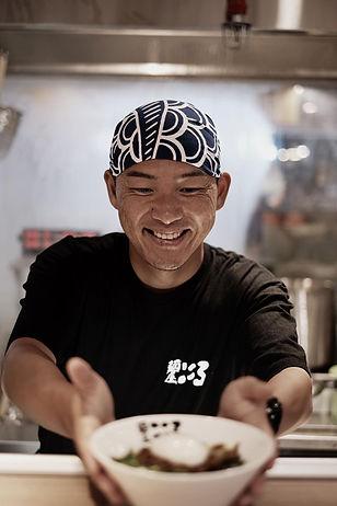 mazesoba chef Takuma Ishikawa