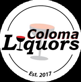 Coloma Liquors Wine Glass Logo Website 2