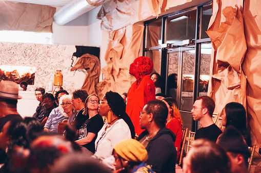 Po'Chop | The People's Church of the G.H.E.T.T.O | Photo x Candice Majors | Bronzeville Artist