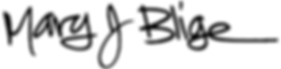 Mary J Blie Logo