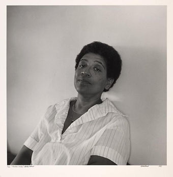 Audre Lorde Courtesy of The New York Public Library Digital Collections.
