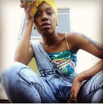 Jenn Freeman | Po'Chop on the set of Jamila Woods LSD Video. Shot by VAM