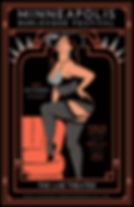 Minneapolis Burlesque Festival | Po'Chop | The Brown Pages