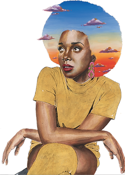 Jamila Woods on The Brown Pages | Artwork x Brian Dovie Golden