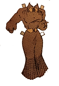 The Brown Pages | Po'Chop | Jenn Freeman | Chicago Artist | Dance | Performance Artist | Jackie Ormes | Brown Paper Doll | Torchy Togs