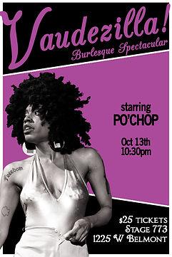 Po'Chop | Vaudezilla | Stag 773 | Chicago Burlesque