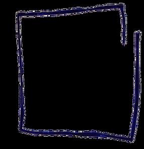 Hand drawn vector frame x Po'Chop