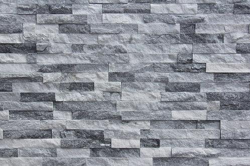 Cloudy Grey 6X24 Splitface Ledger Panel