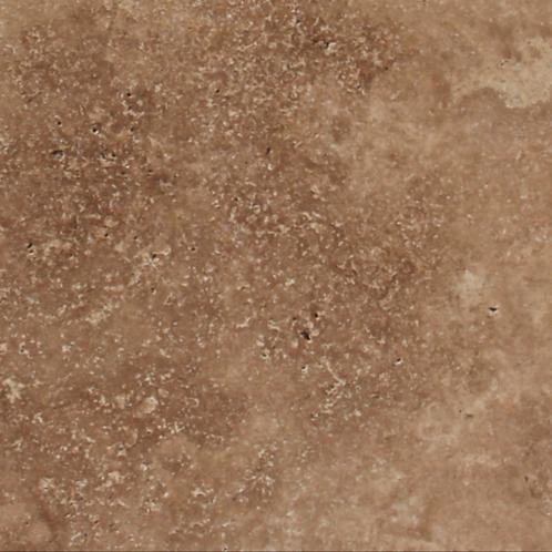 Chocolate Brown Travertine Tile