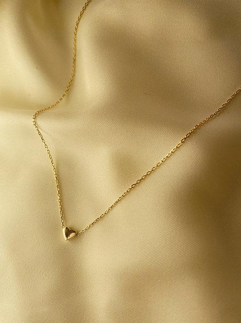 Minimal Kalp Kolye - 925 Gümüş