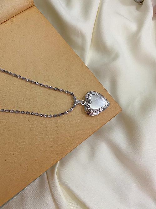 Kalp Açılabilir Madalyon Kolye II
