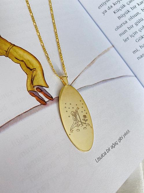 Küçük Prens Kolye -925 Gümüş