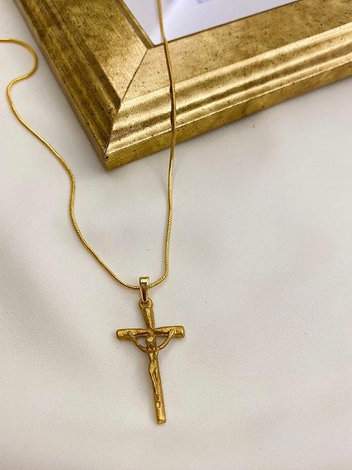 İsa'lı Haç Kolye II