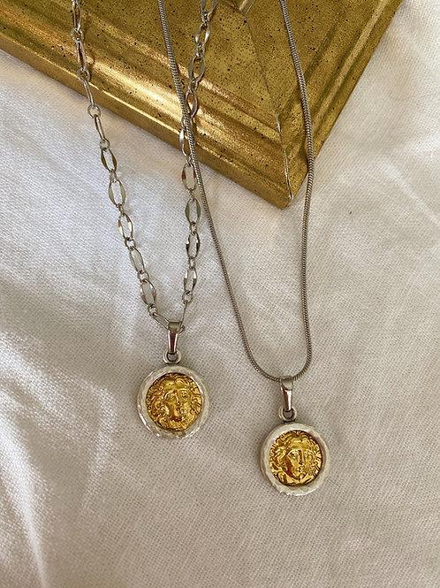 Antik Madalyon Kolye II