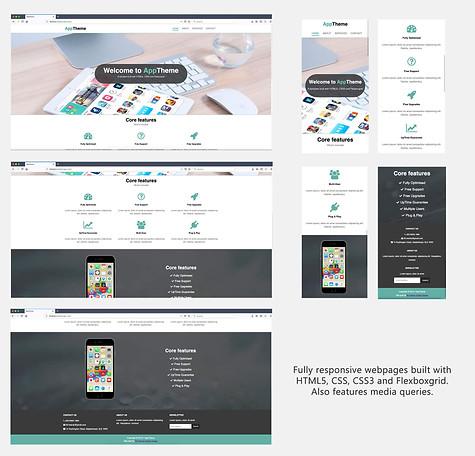 Responsive Website (Flexboxgrid)