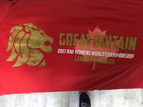 Team GB Women's American Football Final (Red #2)