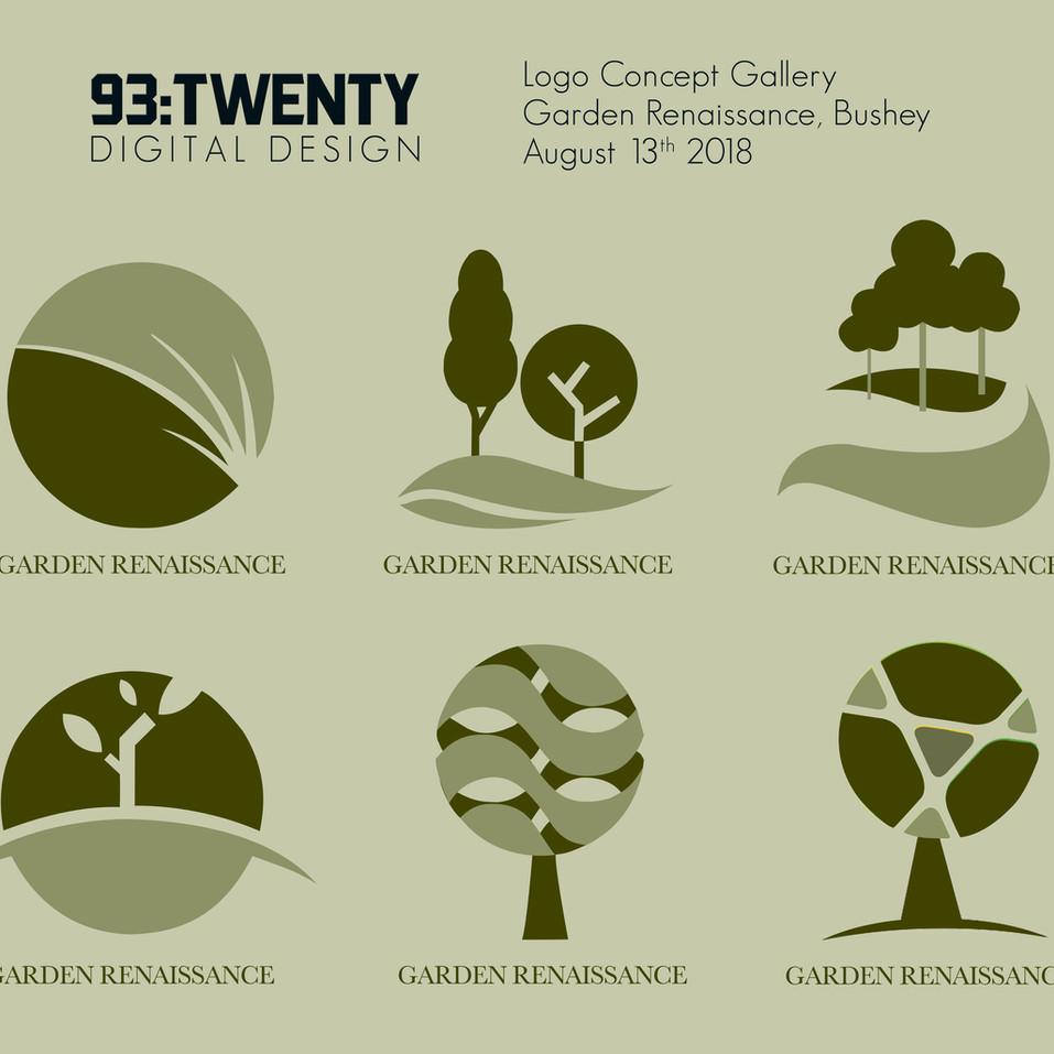 Logo Showcase - Garden Renassiance