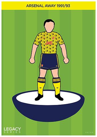 Legacy Kit Series - Arsenal 1991/93