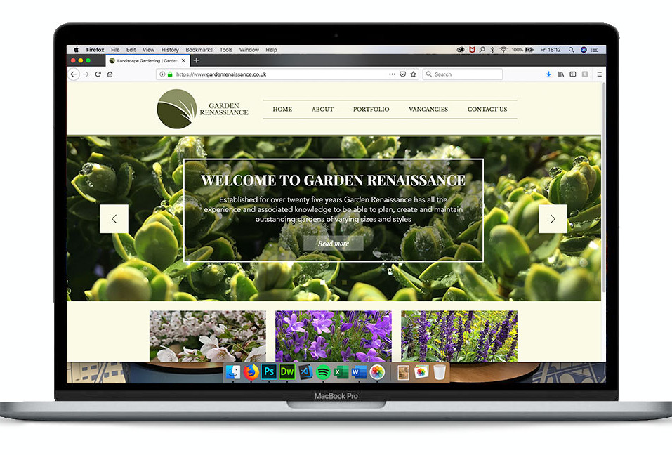 Garden Renassiance Homepage