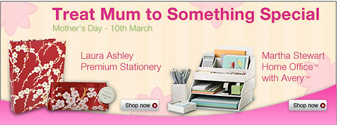 Staples Mothers Day 2013 Web Banner