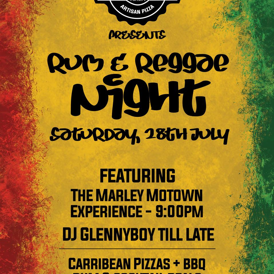Rum & Reggae Night - July 2018