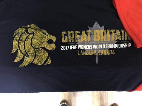 Team GB Women's American Football Final (Blue)
