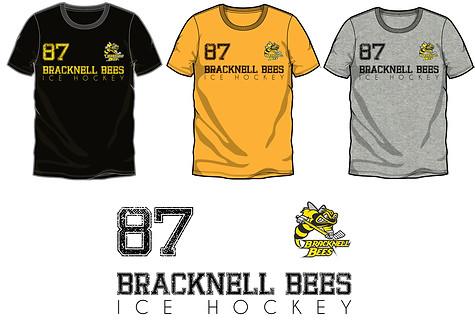 Bracknell Bees Shirt Design #4