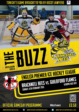 2014/15 Gameday Programme cover
