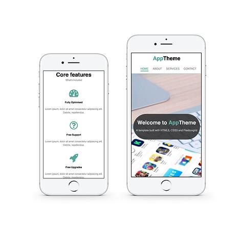 Responsive Website (Flexboxgrid) (mobile)