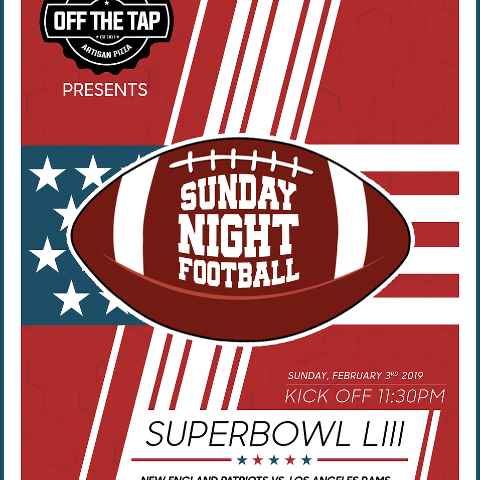 Off The Tap Superbowl 2019 Promo