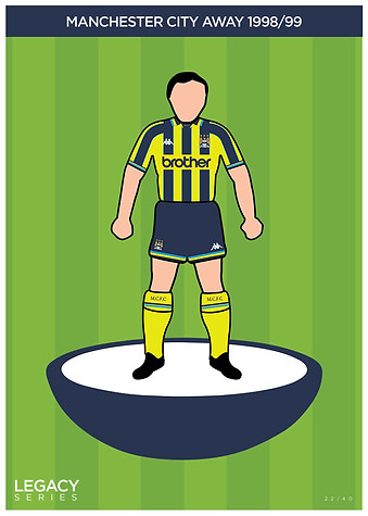 Legacy Kit Series - Manchester City 1998/99