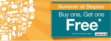 Staples Summer 2012 Web Banner