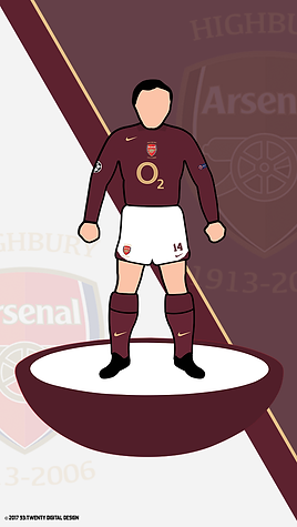 Legacy Kit Series - Arsenal 2005/06