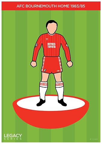 Legacy Kit Series - AFC Bournemouth 1983/85