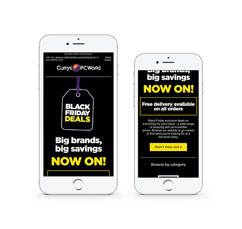 Black Friday Launch 2018 (mobile)