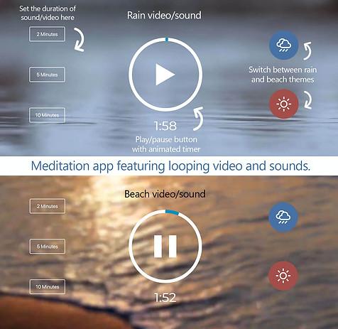 Meditation App (JavaScript)