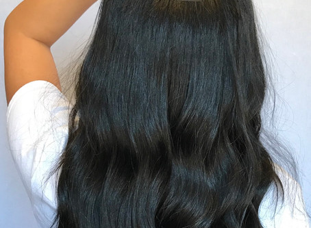 What are beaded row extensions?