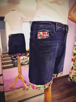Custom sur jeans