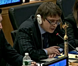 Robert F. Abdullin at the UN
