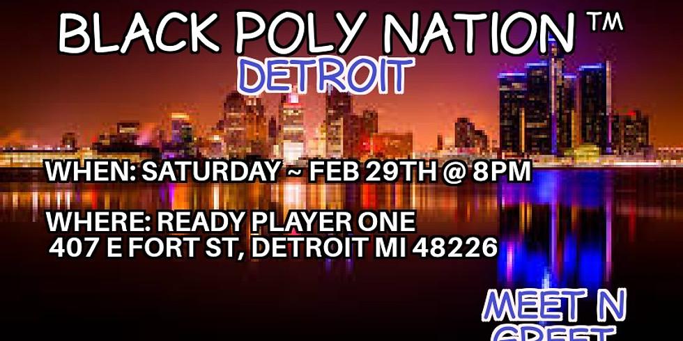 Black Poly Nation ™️- Detroit