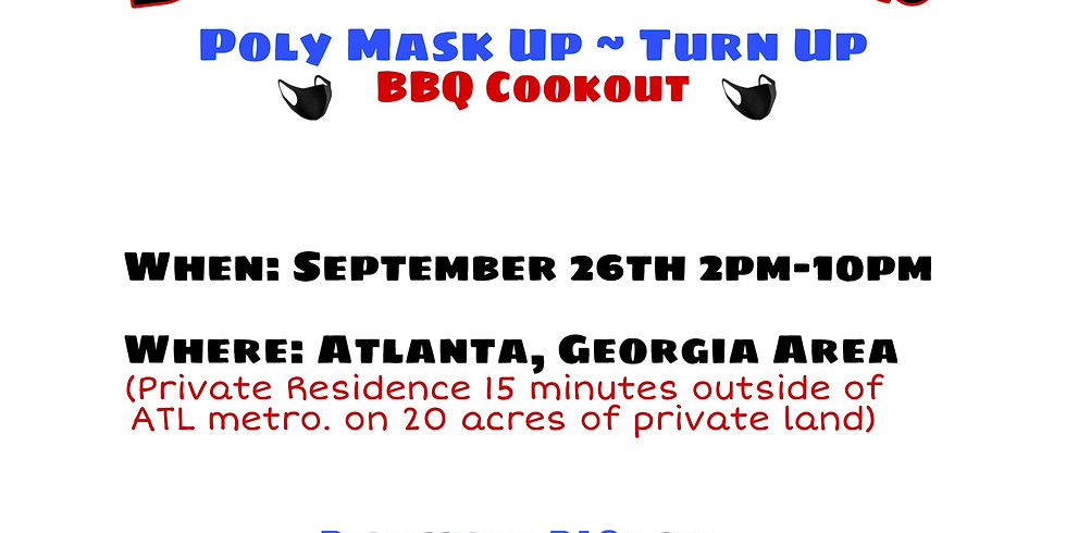 BPN Presents: Poly Mask Up - Turn Up