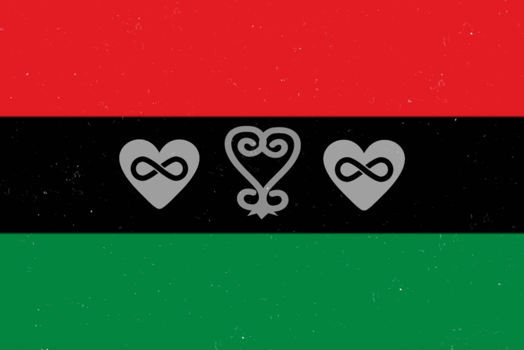 International Black Polyamorous Flag Inspired by a u/technotoad64 design on r/vexillology here's my proposal for a poly pride flag. international black polyamorous flag