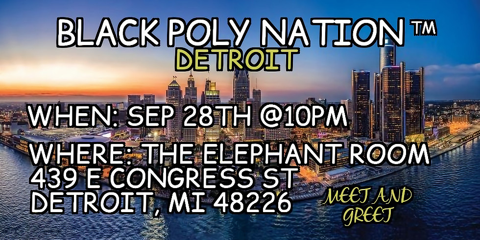 Black Poly Nation- Detroit Meetup