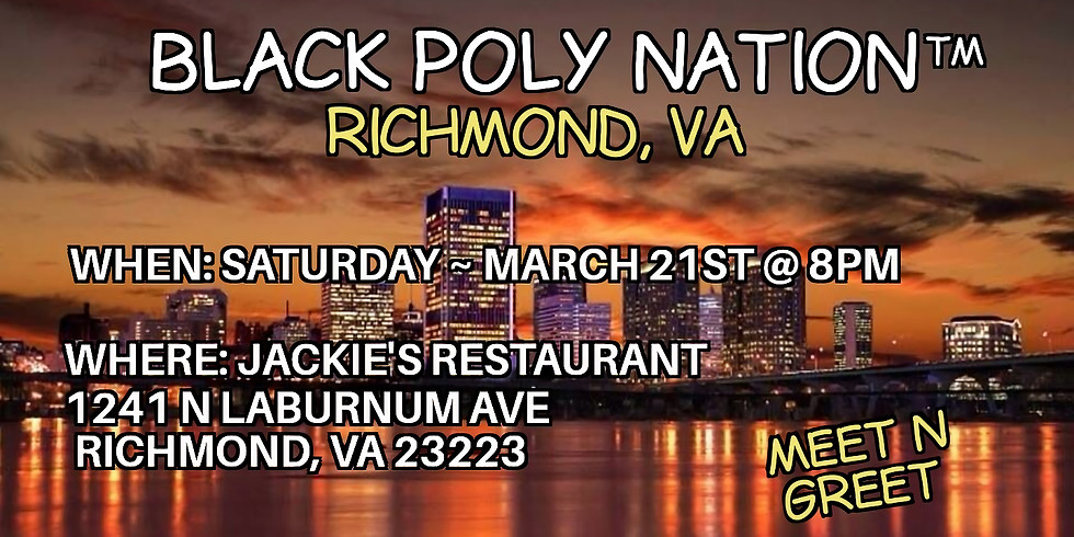 Black Poly Nation ™️- Richmond VA