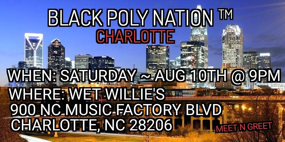Black Poly Nation- Charlotte