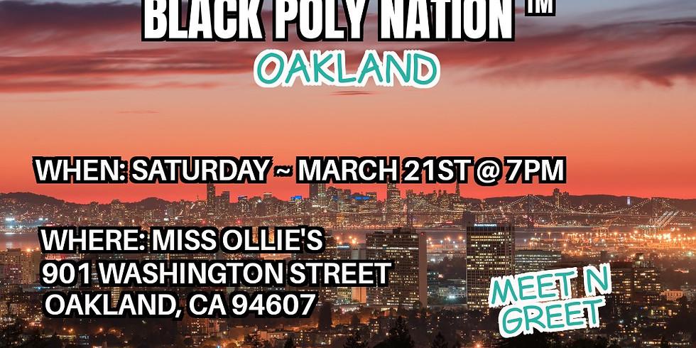 Black Poly Nation ™️-  Oakland