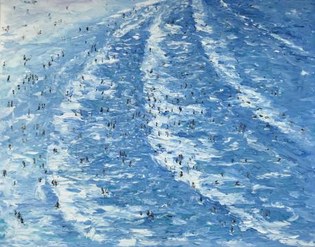 Porthmeor Beach Bathers