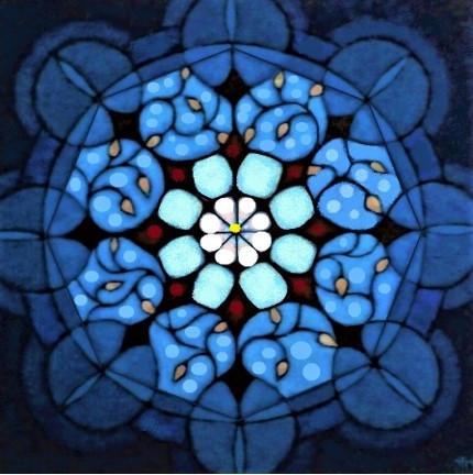 'Heavens Door'  oil on canvas 80x80cm